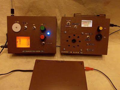 AMラジオ技術とアンティーク: [完成]KIKORI AMトランスミッター YR-1/KIKORI YR RADIO