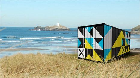 """""""Cornwall Design Season"""" is part of a show of surprising 'design stories.' These stories are currently exhibited in iconic shipping containers throughout Cornwall. Each story has changed something, be it a mind, a moment, a town, or maybe even the world. Some are humbling, some are astonishing, some are both.  #oceanshipping www.shiplilly.com Lilly & Associates"""