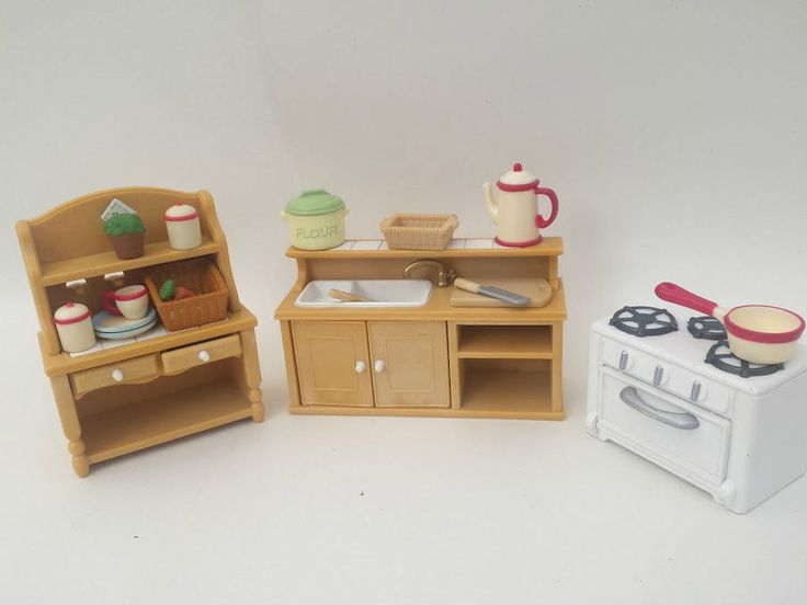 Sylvanian Families Country Kitchen BUY IT HERE!  in Dolls & Bears, Dolls, Clothing & Accessories, Fashion, Character, Play Dolls | eBay