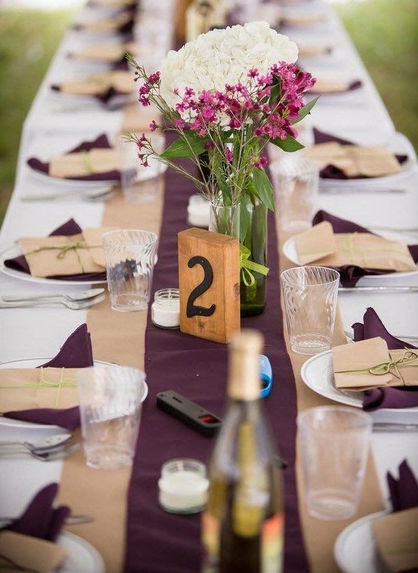 casual backyard wedding-Two Sticks Studios Photography: Wedding Tables, Ideas, Cool Website, Backyard Wedding Two, Wedding Two Sticks, Wedding Table Settings, Backyard Weddings