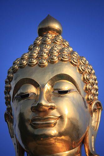 Golden Buddha.  Chiang Rai - Thailand