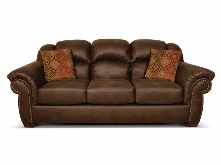 Bryceu0027s Casual Contemporary Sofa Is A Three Over Three Design. Softness Is  Evident From The