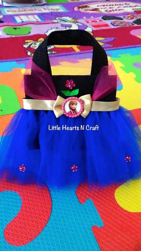 Bolso de mano bolso tutú princesa flor por LittleHeartsNCrafts