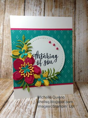 Shell Stamps: Going Grey with Scrap-Creations Flowers Challenge
