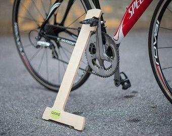 Wood Bike Stand
