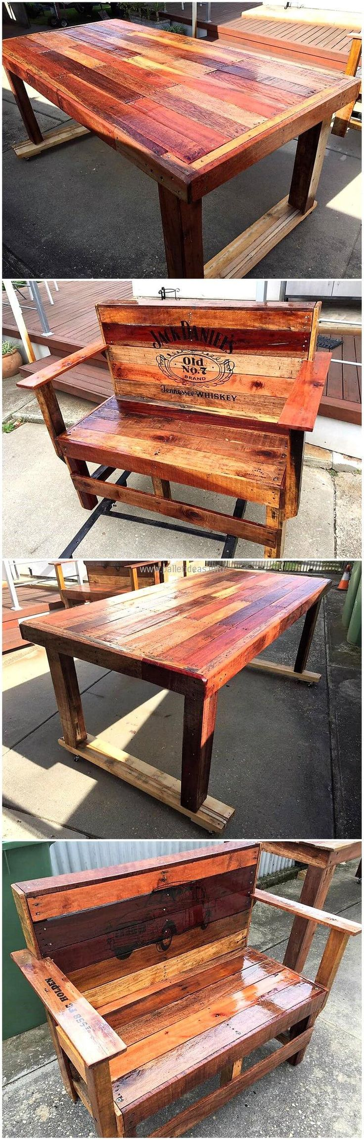 Incredible Wood Pallet Ideas and Projects 373
