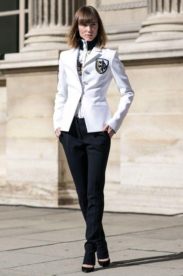 Образы для офиса: примеры на фото модных и строгих вариантов для летнего гардероба |Vogue | Мода | STREETSTYLE | VOGUE