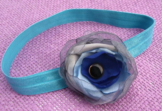 Retro hair band for babys not only to sessions by CuteHairBand,