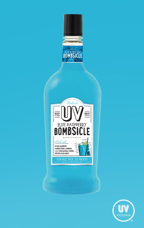 Love the taste of UV Blue and lemonade? Don't waste precious lounging time getting ingredients together. UV Blue Raspberry Lemonade Cocktail is premixed and ready for fun. Just pour over ice and enjoy!