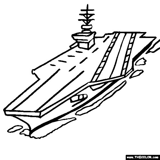 Coloring pages aircraft carrier ~ US Navy Aircraft Carrier Coloring Pages | Us navy aircraft ...