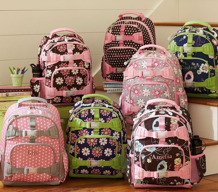 Pottery Barn Kids Backpacks I Like Their Line Of