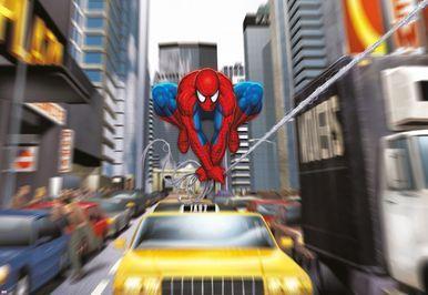 Spiderman Rush Hour Photomural