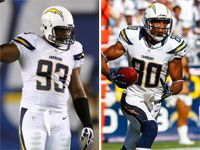 Chargers' Dwight Freeney, Malcom Floyd out for year