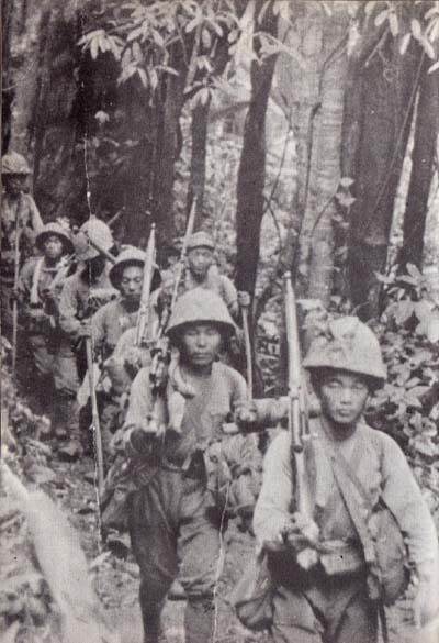 Japanese Soldiers WW2 in Guadalcanal
