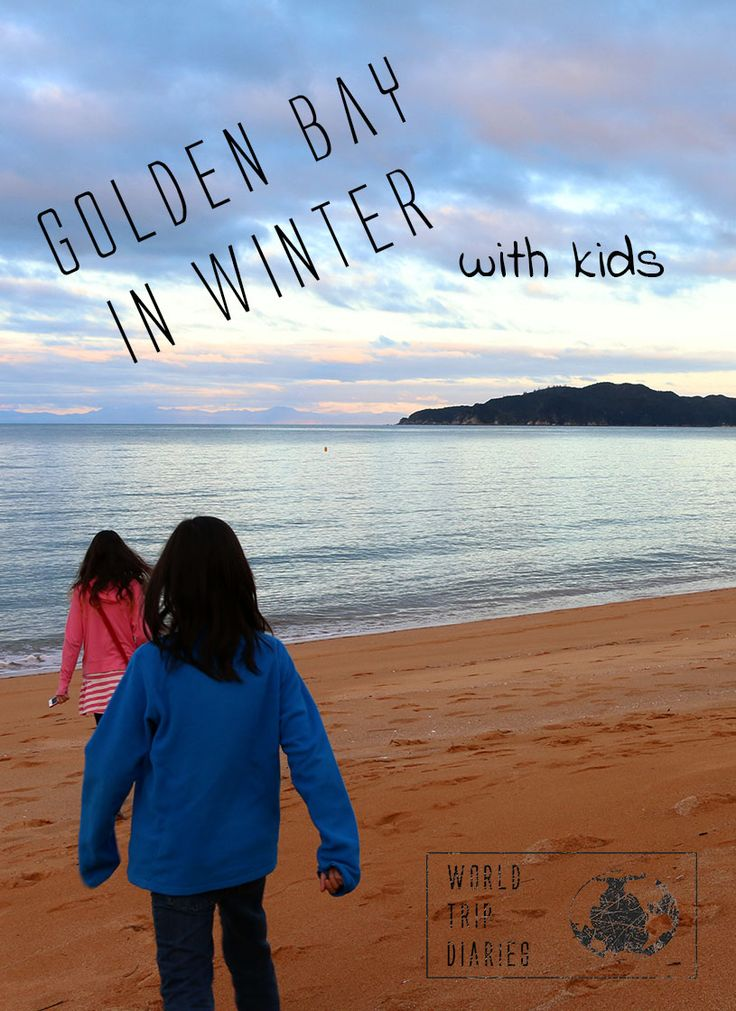 What to do - for free - in Golden Bay (NZ) during winter, with kids!  - World Trip Diaries