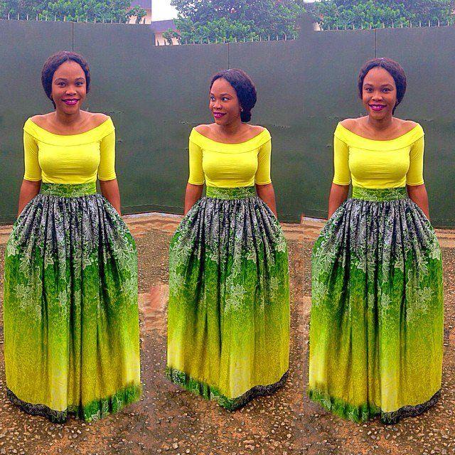 Flair Skirts Ankara Styles Nigeria Fashion African Fashion Ankara Kitenge African Women