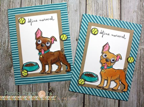 Prairie Paper & Ink: Tim Holtz Crazy Dogs | Distress Ink Watercolor