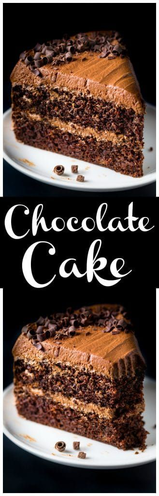 Supremely moist, rich, and decadent Chocolate Ricotta Layer Cake. Dangerously delicious!