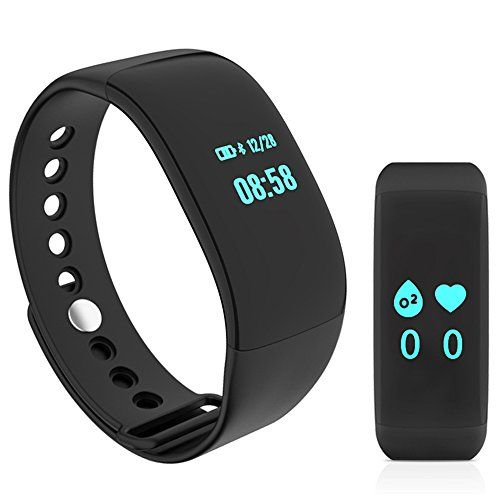 ievei Fitness Tracker with Heart Rate Monitor, Step
