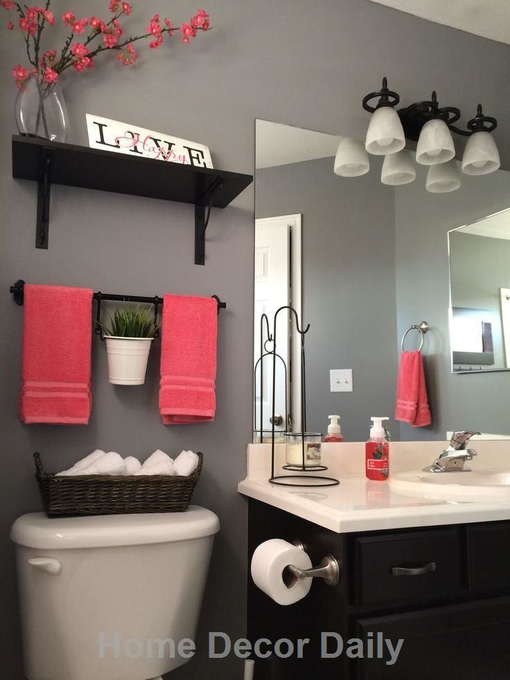 Best 25+ Red bathroom decor ideas on Pinterest | Grey bathroom ...