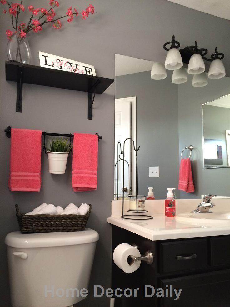 Home Decor Bathroom Ideas 1000+ ideas about Small Bathroom Decorating on Pinterest  Small Bathrooms, Primitive Bathrooms and Bathroom