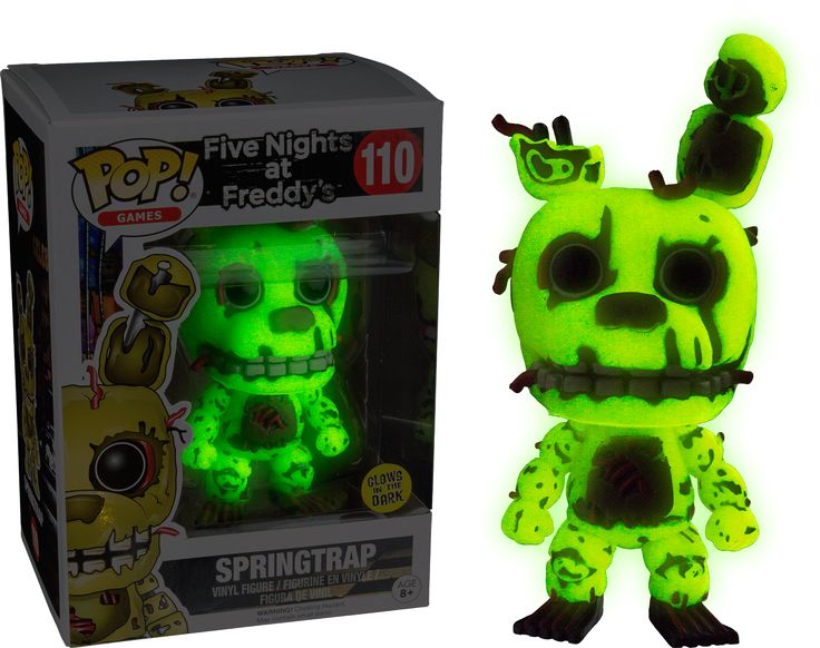 Funko POP! Action Figure - Five Nights at Freddy's - Springtrap Glow in the Dark. Otakupoint Store - Anime, Movies and more!
