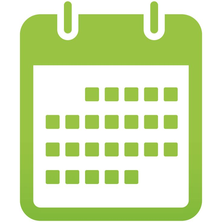 Calendar Green Icon Png image #4112