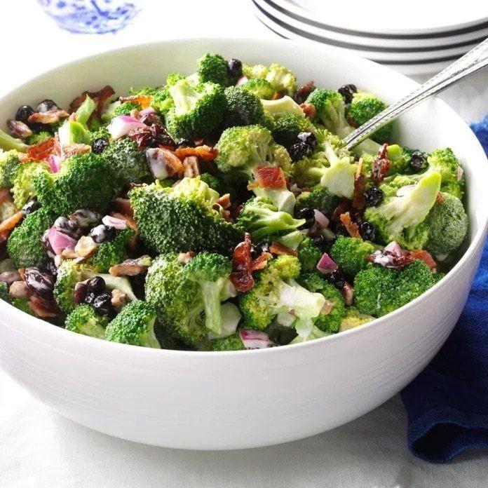 еще салат из брокколи капусты рецепты с фото для круглого лица