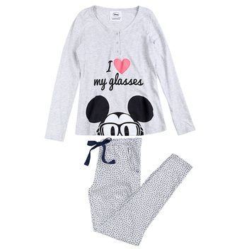 Mickey long cotton pyjama