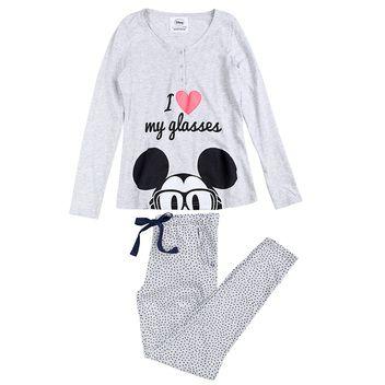 Mickey long cotton pyjama