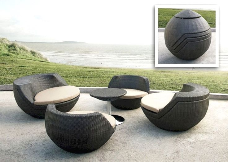 30 White Modern Outdoor Furniture Ideas For Your Yard Contemporary Outdoor Furniture Contemporary Patio Furniture Modern Outdoor Furniture