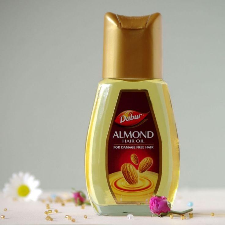 Migdałowy olejek zapobiegający uszkodzeniom włosów Dabur - Rani-art