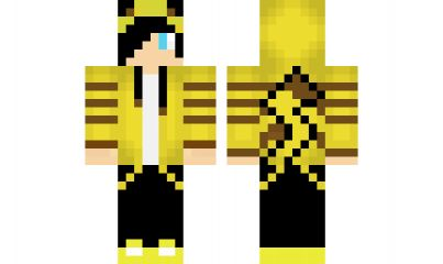 minecraft skin Cool-Pikachu-Boy