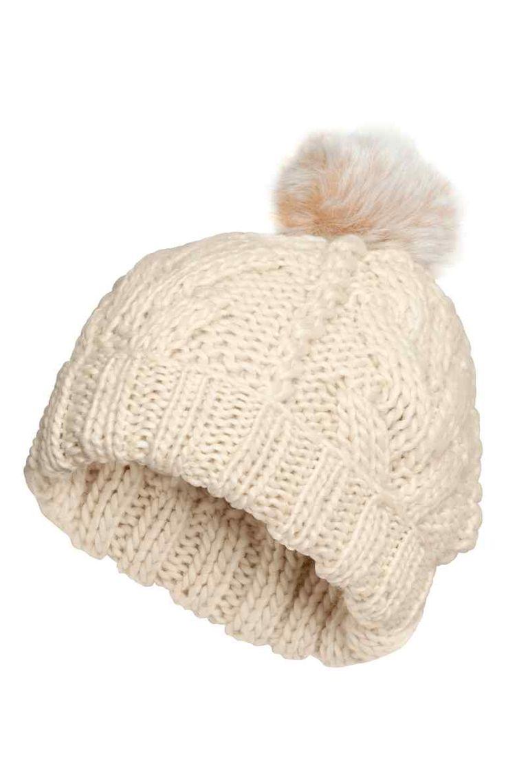 Bonnet en maille torsadée | H&M