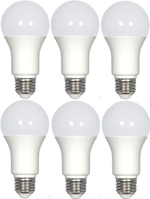 Satco S29837 Solid State Led Light Bulb Pack Of 6 Frosted Finish