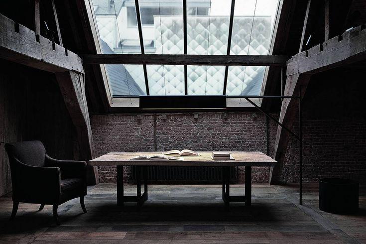 Projects - Vincent Van Duysen VVD II Attic Guestroom Antwerp, Belgium