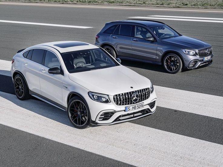 Mercedes-AMG GLC 63 und GLC 63 Coupé: Neue V8-Modelle mit bis zu 510 PS