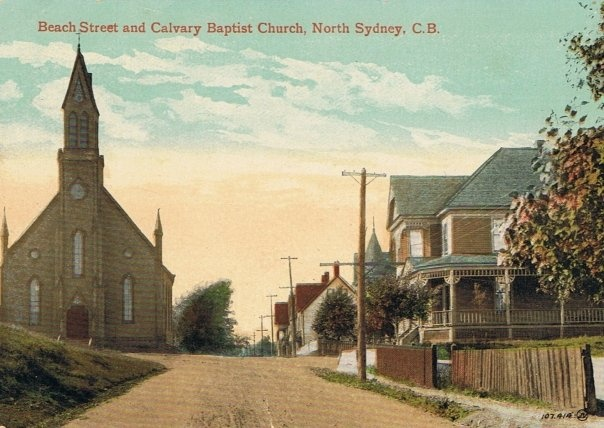 Calvary Baptist Church-Beach St-North Sydney-Cape Breton Island http://CaperMemories.Com