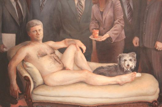 Harper 'Nude Painting' That Sparked Controversy Can Be Yours For $8,800