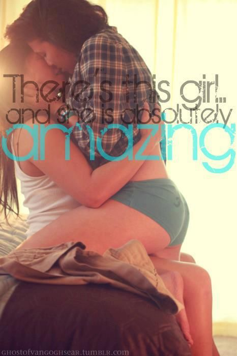 There's this girl... #lesbian