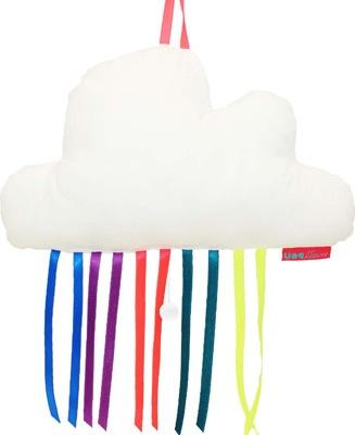 witte wolk - regenboog muziekdoos