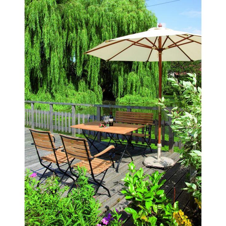 Epic Eisen Teakholz Sitzgruppe OXFORD Ihr Online Shop f r exklusive Gartenm bel Garten