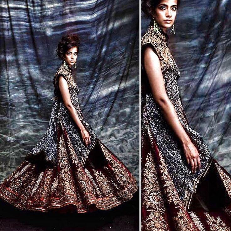 JJ VALAYA Couture .... the celebration of India ... the art of the new tradition. #indiancouture #royalnomad #embroidery #valaya #jjvalaya #couture #style #highfashion #heritage #handmade #decadent #regal #indiamodern #glamour #valayacouture #royal #theworldofvalaya #embroidery #fashion #indianfashion #opulence #thenewtradition #luxury #bride #indianbridals #lehnga #lehanga