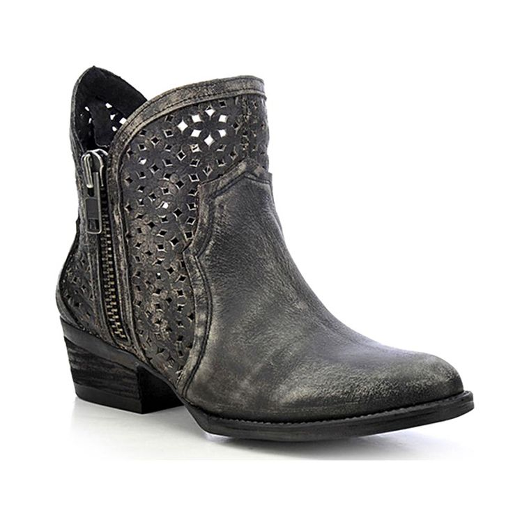 Circle G Womens Cut Out Fashion Booties