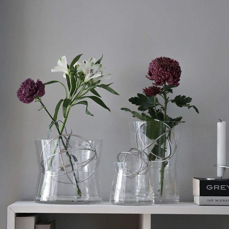 """1,024 tykkäystä, 178 kommenttia - Plaza Interiör (@plazainterior) Instagramissa: """"TÄVLING: Med vasen Sphere från Born in Sweden är det superenkelt att göra vackra…"""""""