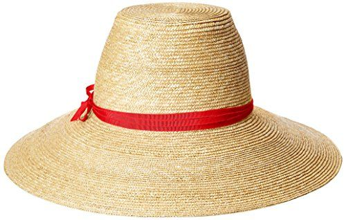 35ac25eac35cfa Women's Cote D'Azur Fine Milan Straw Sun Hat Rated, UPF 50 for Max Sun  Protection