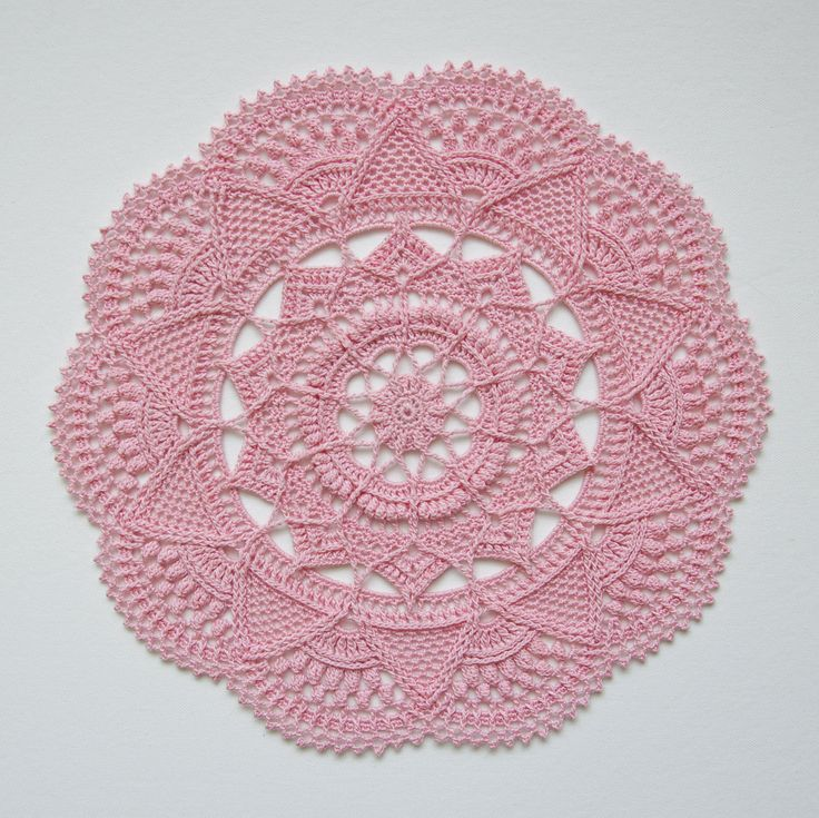 Free Crochet Doily Patterns Instructions : Best 20+ Crochet Doilies ideas on Pinterest Doily ...