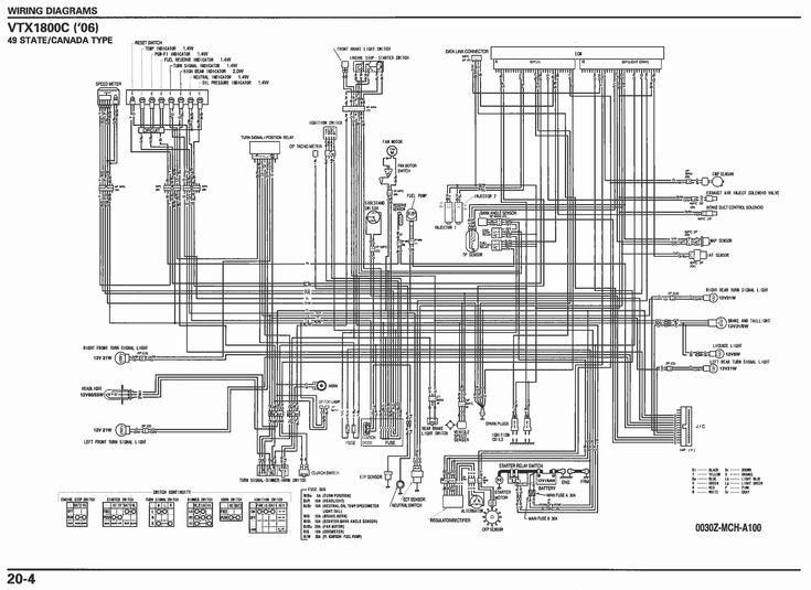 Vtx 1300 Wiring Diagram 4 Lenito Throughout
