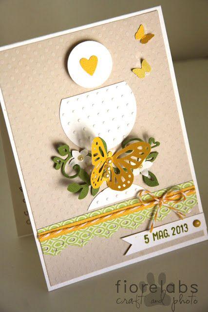 biglietto by Fiore tarjeta para usar el sacabocado de mariposa