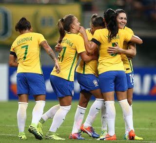 Blog Esportivo do Suíço:  Seleção Brasileira feminina fará amistoso em julho com a Alemanha